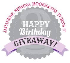 anese sewing books is 2 yrs old book and fabric giveaway