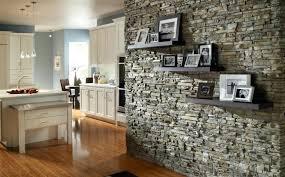 stacked stone wall interior stacked stone interior wall installation