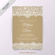 wedding invitation vectors, photos and psd files free download Vintage Wedding Invitation Templates Photoshop vintage wedding invitation with lace Wedding Invitation Templates Blank