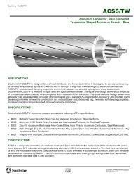 Acss Tw Southwire