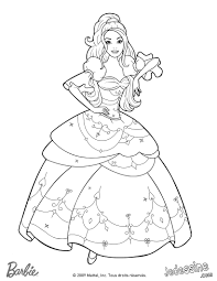 Coloriage Barbie Princesse Hugo L Escargot