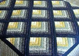 The Chevron Log Cabin Quilt Block & picture of a chevron log cabin quilt. Adamdwight.com