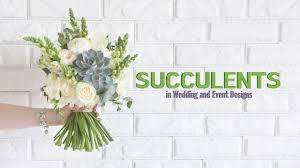 Institute Of Wedding And Event Design Succulents In Wedding And Event Designs Floriology