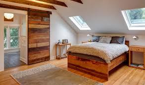 make an interior barn door look natural