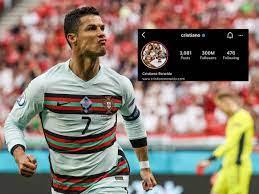 Cristiano Ronaldo Instagram | Cristiano Ronaldo scripts history, becomes  first person to reach 300 million followers mark on Instagram