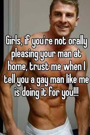 Pleasing your gay man