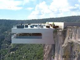 Cantilevered Restaurant Overhangs A Canyon In Mexico Tall Arquitectos  designed Bir Bitori, a luxury diner and cocktail bar located above the  stunning ...