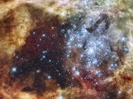 La foto del día del espacio - El cúmulo de estrellas R136