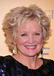 blonde curly pixie haircuts for older women christine ebersole short hairstyle