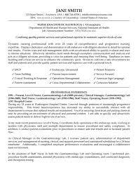 Sample Resume For Nurse Unit Manager Resume Pdf Download
