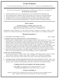 Accountant Resume Examples Samples Accounting Template Free How To W