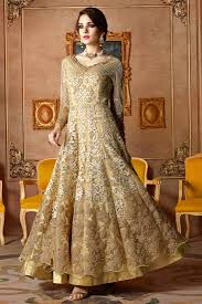 Images Of Designer Party Wear Salwar Kameez Golden Color Designer Party Wear Salwar Kameez