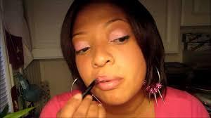 barbie pink nicki minaj makeup tutorial