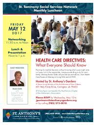 networking flyer st tammany ss networking luncheon flyer may 2017
