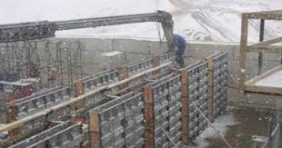 what is frost wall types and uses of