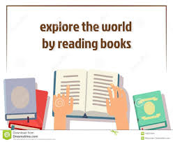 Free Human Design Reading Reading Books Poster Design With Flat Books And Human Hands