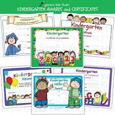Awards Kindergarten Awards And Certificates Karens Kids Printables
