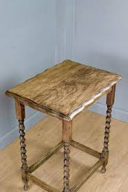 side tables solid oak side table occasional on turned legs years old wood coffee with