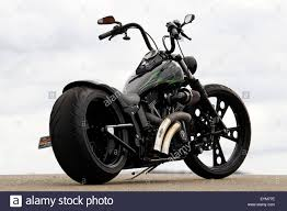 motorcycle mood bike chopper black static diagonally from