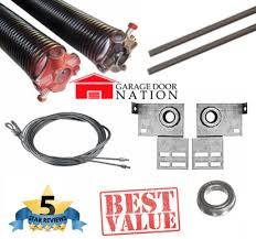 garage door kit Garage Door Torsion Springs Replacement Kit  5Star Ratings