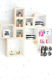 modern projects to try diy wall storage cubes box shelf cube storage diy wall