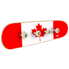 Wall Coat Rack Canada Flag Of Canada On Wall Coat Rack For The Decoration Of A Skate Room 80