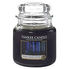 Yankee Candle Small Jar Candle, <b>Dreamy</b> Summer Nights: Amazon ...