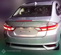 2017 Honda City Facelift Clear Images Out Autoportal