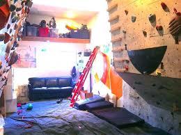 rock climbing wall kids home homes build their very own indoor children diy child my a rock climbing wall