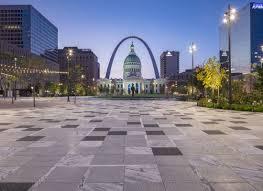 Tectura Designs Pavers Kiener Plaza Custom Terrazzo Pavers Under St Louiss