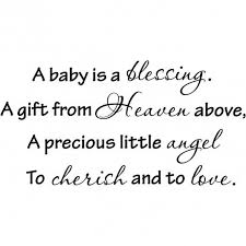 Baby Blessing Quotes Impressive Love Quotes For Walls Ivy Bridget's Baby Shower Pinterest Baby