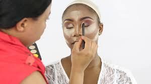 bridal makeup and hair nigerian wedding dark skin bride ep2