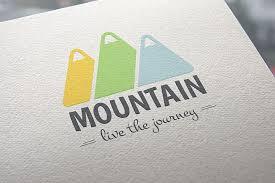 Mountain svg bundle,rocky svg,snowy peak range svg,mountain range clipart vector png dxf eps stencil cut file silhouette cricut vinyl logo. Free Logos Download Mountain Logo Template Free Design Resources