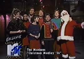 """In 1986, MTV reunited the <b>Monkees</b> for a """"<b>Christmas</b> Medley"""" / Boing ..."""