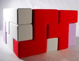 tetris furniture. Tat-ris: Tetris Inspired Furniture