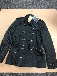 Burberry Brit Oxleigh Quilted Jacket Woomens Jacket Black Size L ... & Burberry Brit Oxleigh Quilted Jacket Woomens Jacket Black Size L 1150   eBay Adamdwight.com