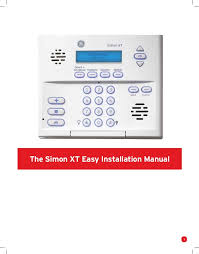protect america home security systems installation manual and user gu 3 the simon xt easy installation
