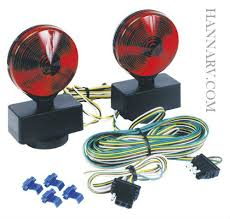 magnetic mount tail light kit atla towing light kit  magnetic mount tail light kit atl20a towing light kit 4 way flat and 20 foot wiring harness