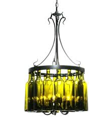 wine bottle chandelier how to make pottery barn mt wine bottle chandelier