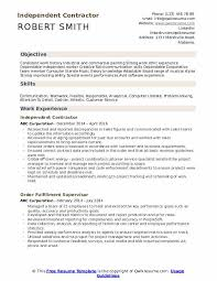 Use the template search on the top to find the customized templates that fit your needs with absolutely no cost. Independent Contractor Resume Samples Qwikresume
