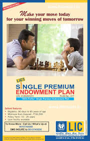 single premium endowment plan