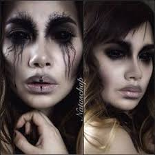 natascha pedersen on insram two versions on my fallen dark angel look i used my prettys brushes to apply my mac studio sculpt foundation and