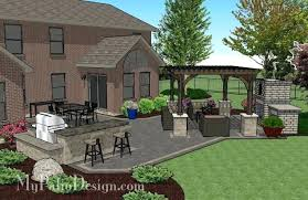 paver patio design modern design patio with pergola inspiring courtyard patio pergola amp fireplace concrete paver patio design ideas paver patio design