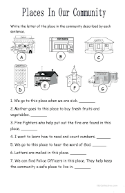 Jobs Worksheets For Kindergarten Earth Day E Middle Free Community ...