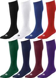Demarini Brand Logo Knee High Softball Baseball Athletic Socks In 8 Team Color Options