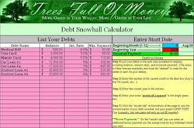 debt snowball calculator free free debt snowball calculator in an excel spreadsheet perfect