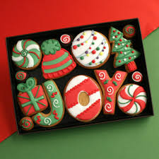 Decorative Cookie Boxes Hand decorated cookies presented in a premium gift box 46