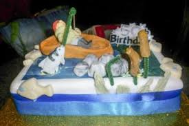 Check out our new mini cake explosion boxes and mini cake variety packs 7 Fun Fishing Themed Cake Ideas Lovetoknow
