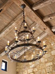 lighting appealing iron chandeliers rustic 4 rustic iron candle chandeliers