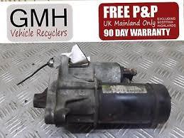 Citroen Xsara 1.4 Petrol 5 Spd Manual Starter Motor Eng Code Tu3jp ...